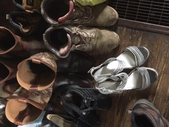 Glenda's shoes at Weaver's