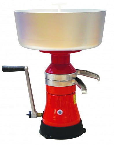 hand-operated cream separator