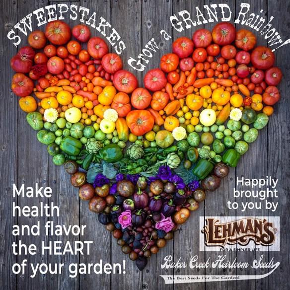 Lehman's & Baker Creek Seeds Sweepstakes