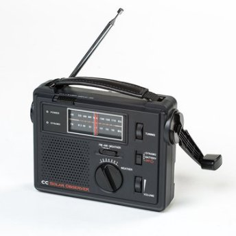 solar emergency radio