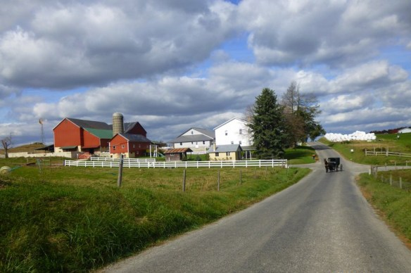 Amish Country Road
