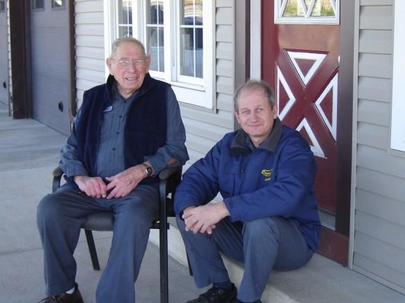 grandpa and dad