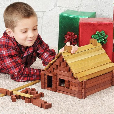 wooden log sets