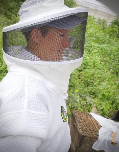 Cyndi Ball beekeeping