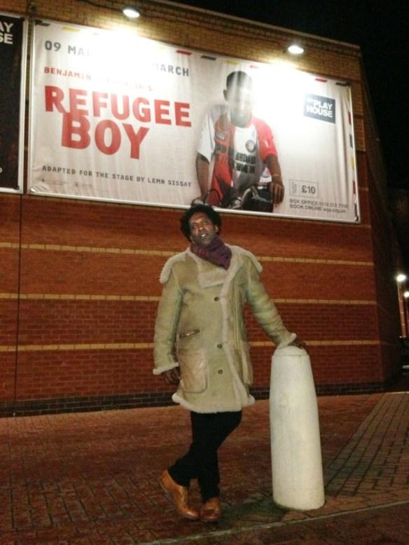 lemn sissay refugee Boy Poster