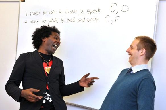 Lemn Sissay Scolarship.Huddersfield University. 03.10.14