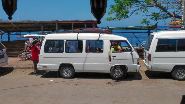 Bus à Padangbai