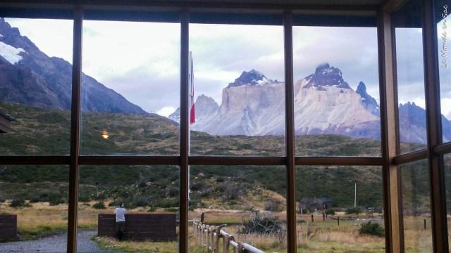 Vue depuis le refuge Paine Grande