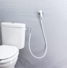 Les fameux toilettes de Thaïlande avec la douchette en guise de PQ !