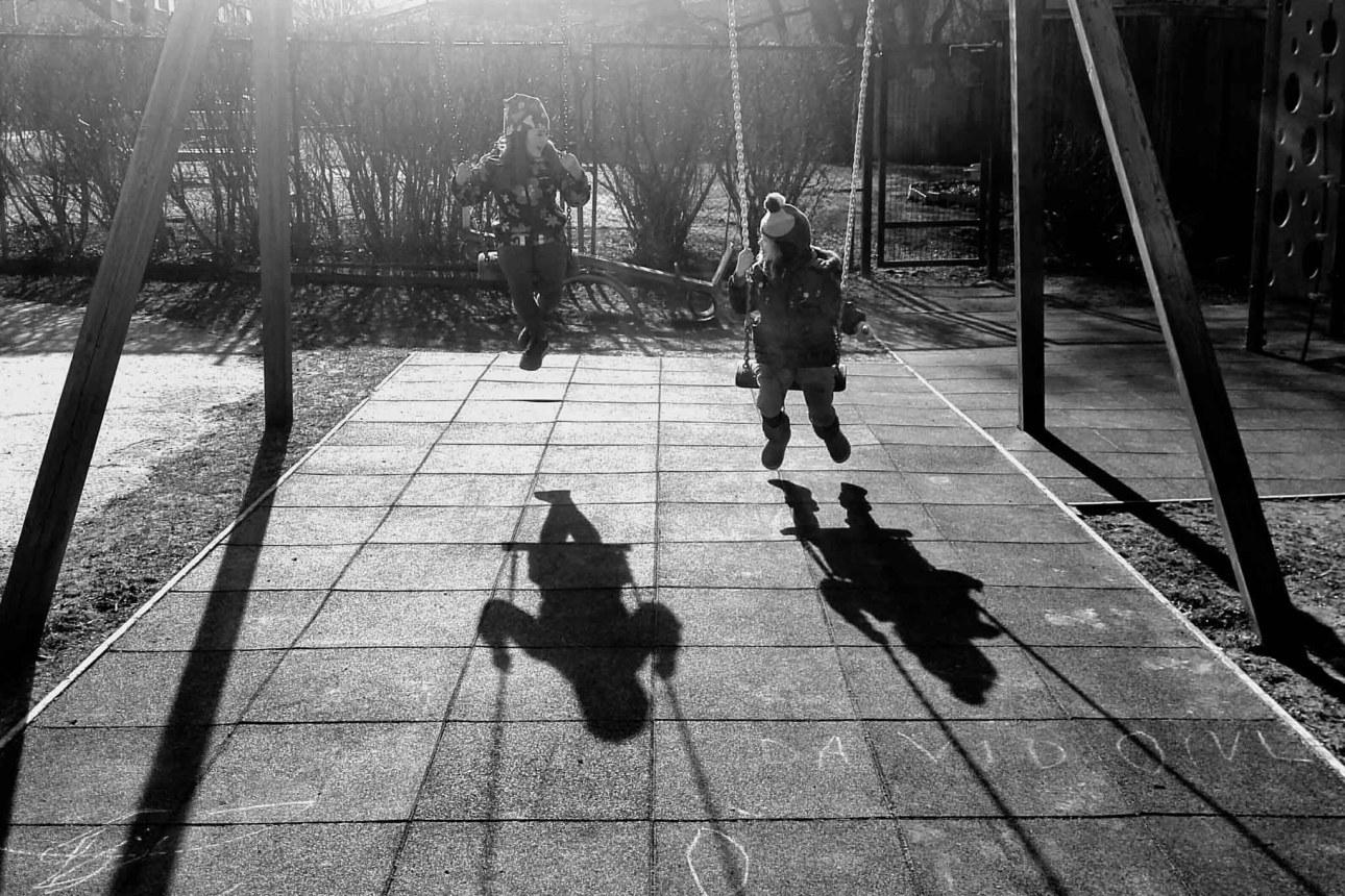 cienie w fotografii