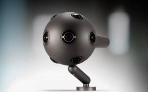 La cámara VR de Nokia