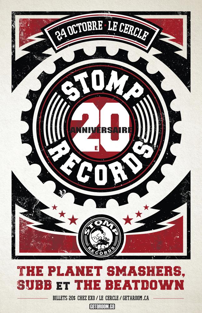 Les 20 ans de Stomp Records