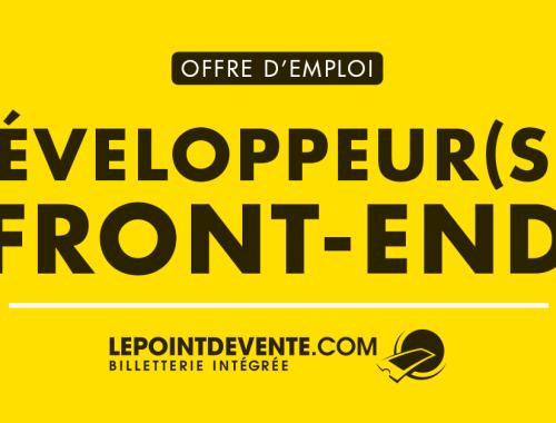 Lepointdevente.com - Développeur Front-End