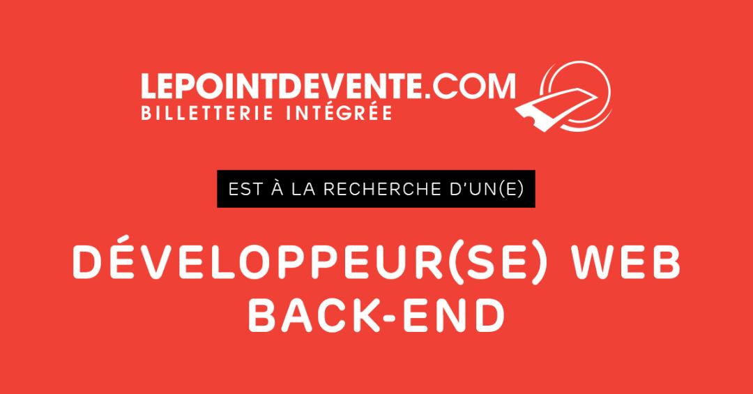 Développeur Back-End