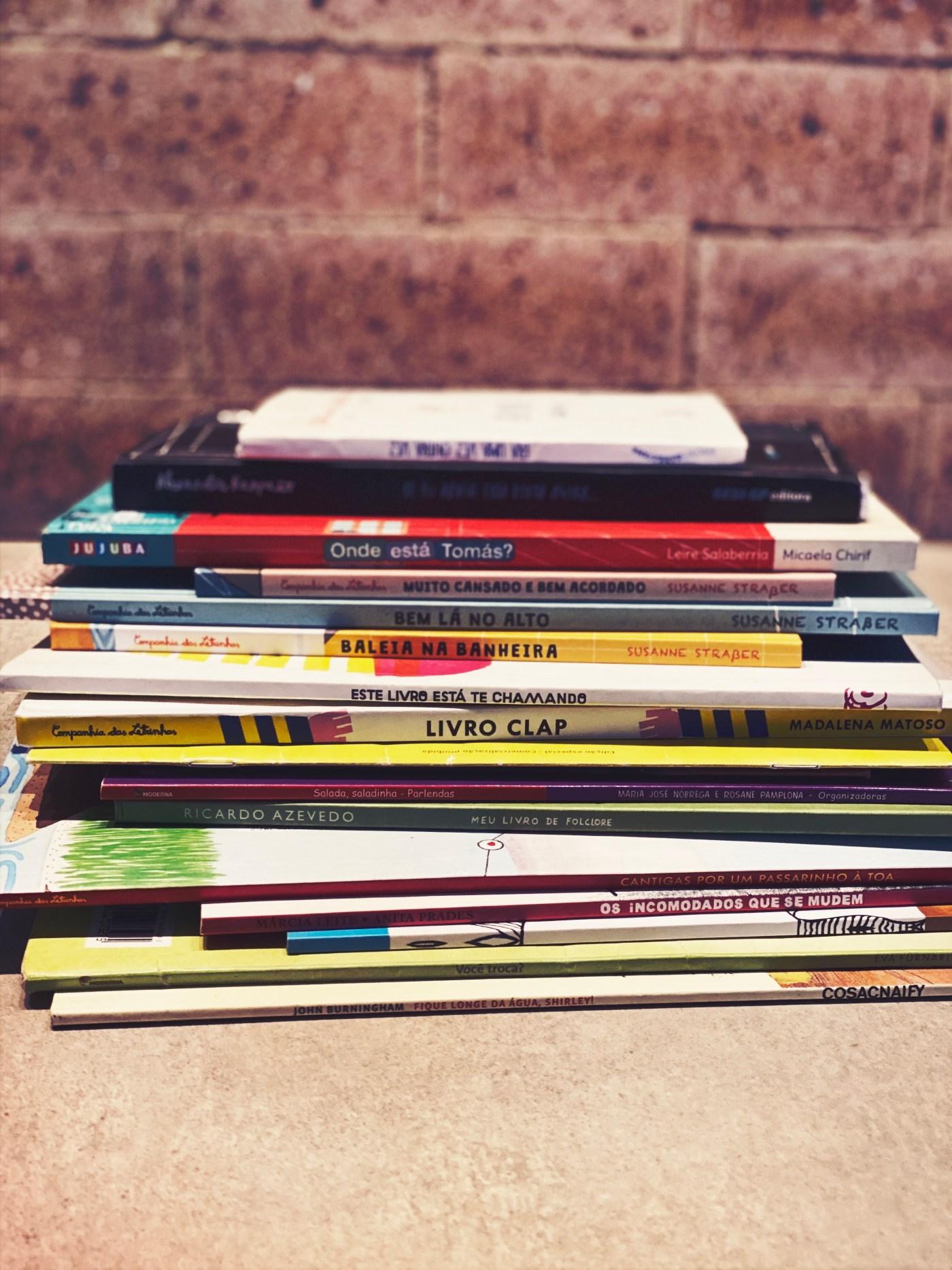 dia das crianças leitura e brincadeira