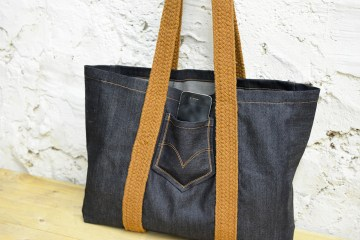 sac cabas denim