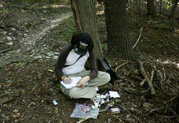 Logging the find