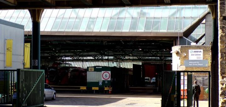 Arriva London Ash Grove Bus Garage