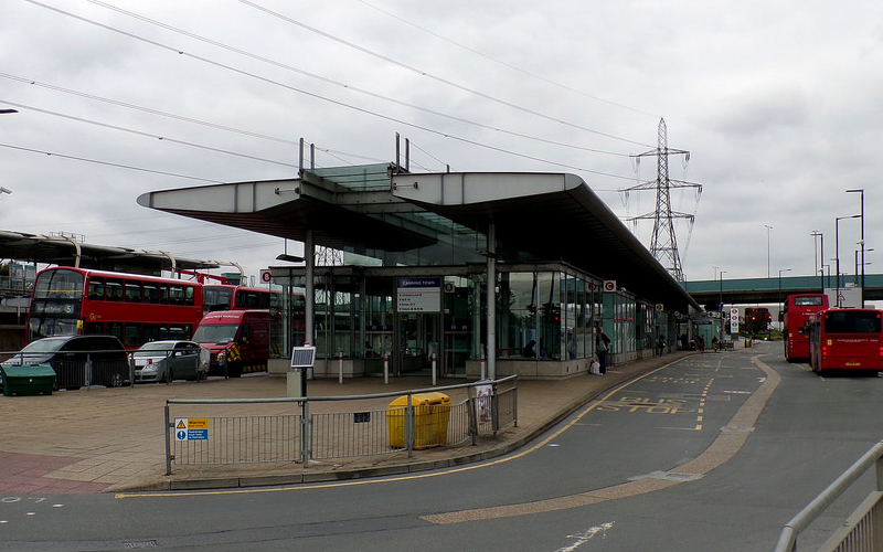 TfL Canning Town Bus Station