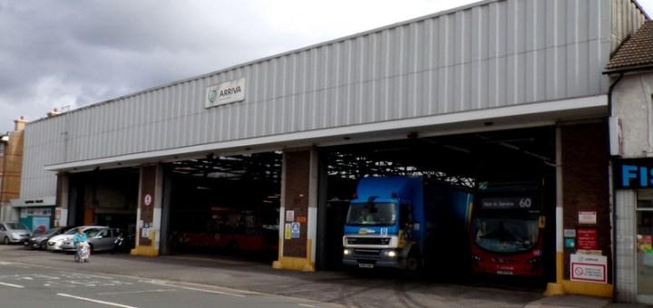 Arriva London Croydon Bus Garage