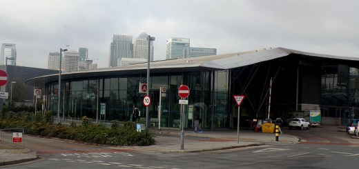 LBSL North Greenwich Bus Station