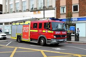 London Fire Brigade Mercedes Benz Atego 1325F AE07 HVV