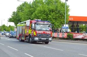 London Fire Brigade Mercedes Benz Atego WU18 FBN