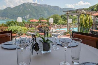 Restaurant gastronomique La Rotonde des Trésoms - Annecy