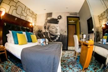 Chambre Tradition - Style Art Déco - Hotel Les Trésoms Annecy