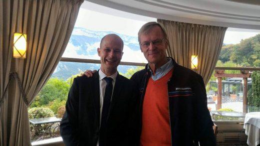 Ari Vatanen et M. Laurent