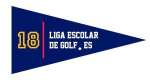 liga escolar de golf