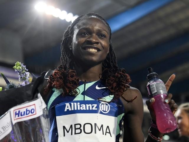 Olympic Athlete Christine Mboma