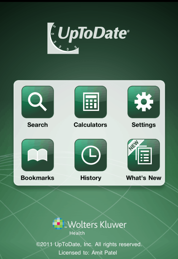 UpToDate Mobile App now available Need to Know