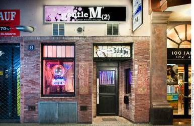 Bar in denkmalgeschützten Räumen. GentleM, Brückstr. 64, 44135 Dortmund. Foto © Dietrich Hackenberg