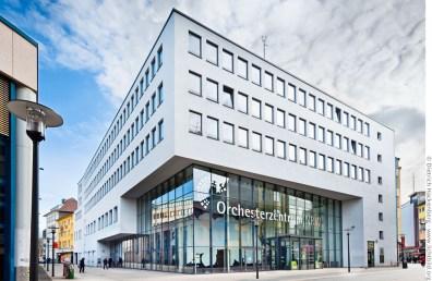 Orchesterzentrum NRW - eine Ausbildungsstätte für künftige Orchestermusiker in der Brückstraße. Foto © Dietrich Hackenberg