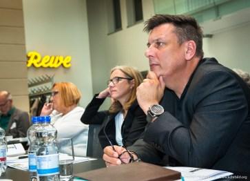 Heino Georg Kassler (ver.di Handel-NRW). Fachhearing Gesundheitsmanagement und Gesunde Arbeit im Einzelhandel. Foto Dietrich Hackenberg