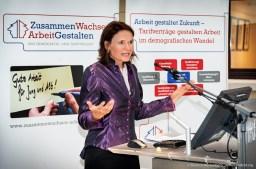 Tatjana Fuchs (Gesellschaft für Gute Arbeit). Foto Dietrich Hackenberg
