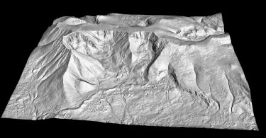 DEM by Quantum Spatial of Mount Katahdin
