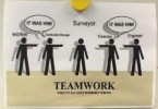 teamwork poster Scanning for Construction