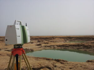 Photo of Scanning the Dead Sea sinkholes