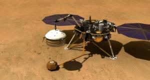 photo of NASA InSight on Mars
