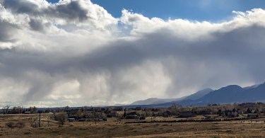 Photo of Front Range Virga - No Lidar - Photo by Tom Yulsman