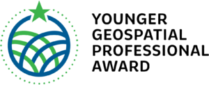 logo for Younger Geospatial Professional Award 2019