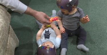 Photo of Babies 3D Laser Scanning Used to Fit Helmets