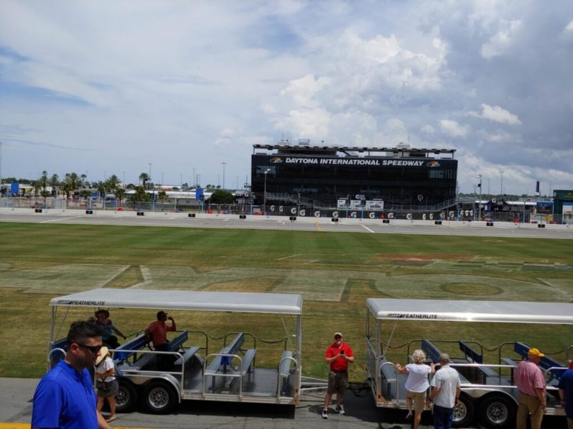 photo of TRB AFB80 Summer Meeting Tour of Daytona International