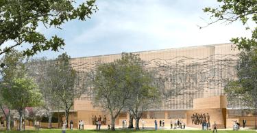 Rendering of Eisenhower Memorial Includes Gehry-Designed Panels