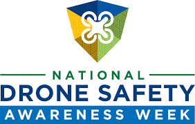 Logo for FAA National Drone Safety Week November 4 - 10, 2019