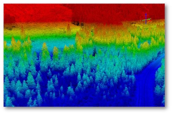 image of Lidar Surveys Inform Avalanche Prediction