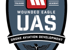 Logo for Wounded Eagle UAS