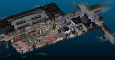 cutaway image of Using Lidar to Map Building Interiors for Public Safety